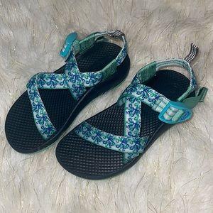 Chaco   blue & black sandals   kids size 12/13